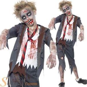 Zombie Ecole Garcon Deguisement Garcons Halloween Horreur Enfant