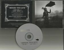 KULA SHAKER Shower your Love w/ RADIO EDIT PROMO DJ CD single w/ PRINTED LYRICS