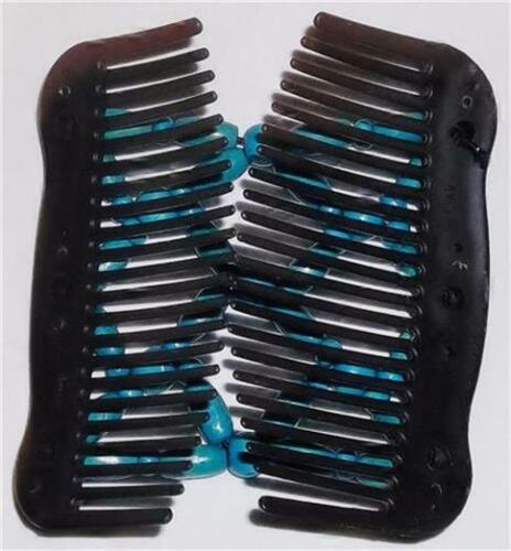 """Angel Wings Hair Clips 4x3.5/"""" Quality S95 African Butterfly Style Magic Combs"""