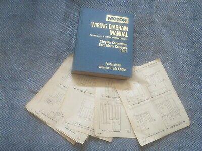 1991 DODGE DAKOTA WIRING DIAGRAM SCHEMATICS | eBay