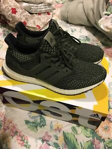 Adidas UltraBOOST LTD BA7748 | Olive green sneakers