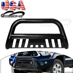 3-039-039-Black-Bull-Bar-Brush-Push-Bumper-Grill-Grille-Guard-For-05-15-Toyota-Tacoma