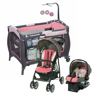 Graco Baby Stroller with Car Seat Travel System Infant ...