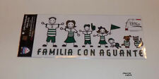 "SANTOS LAGUNA ""FAMILIA CON AGUANTE"" SET OF 8 STICKERS - OFFICIALLY LICENSED"
