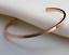 Bracciale-Uomo-Donna-Rigido-Acciaio-Inox-Fascia-Bangle-Argento-Nero-Regolabile miniatura 4