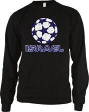 Israel Stars Soccer Ball Israeli Country Team Born Jewish ISR IL Men/'s Thermal