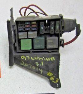 21+ 98 Chevy Lumina Fuse Box Location