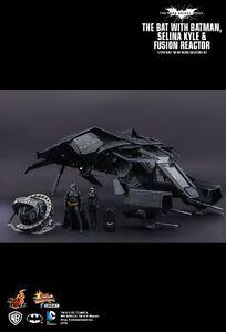 Hot Toys Dark Knight Rises Mmsc002: Ensemble Bat Deluxe avec Réacteur Batman Selina 4897011176017