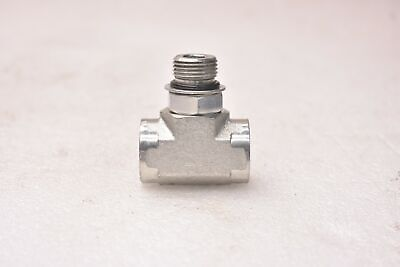 8 Units Steel Brennan 1//2 in Male JIC 37/° Flare x 3//8 in Male O-Ring Boss Straight Adapter