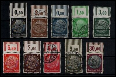 Deutsches Reich 1933 Lot Or Gestempelt Ex Nr 512-526 Me 104.- Briefmarken 93176 Deutschland Vor 1945