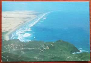Aerial-View-of-90-Mile-Beach-Northland-New-Zealand-Post-Card