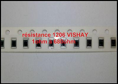 RESISTANCE CMS SMD 1206  2,2 kohms 2,2kΩ  fabricant VISHAY