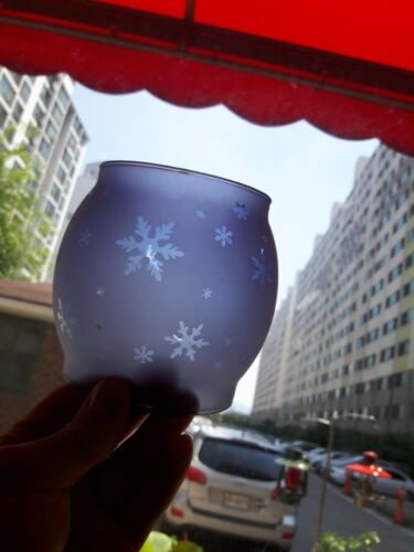snow etching cobalt glass globe for coleman 200a lantern lamp