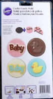 Wilton 489639 Cookie Candy Mold-Baby 11 Cavities - 4 Designs Kitchen