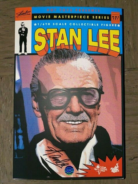 Stan Lee Mms327 Sixth Scale Figure By Hot Toys Marvel Sideshow Collectibles For Sale Online Ebay