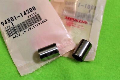 94301-14200  X2 OEM HONDA ACURA CYLINDER HEAD DOWEL PINS M14X20 B D H K SERIES
