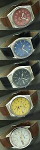 JOB LOT OF 5 VINTAGE CITIZEN AUTO MECHANICAL DAY/DATE WATCHES 450b-a225524-9
