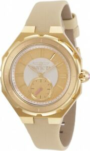 Invicta-Angel-Quartz-Gold-Dial-Ladies-Watch-31666