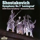 Shostakovich: Symphony No. 7 (CD, Nov-2013, Alto)
