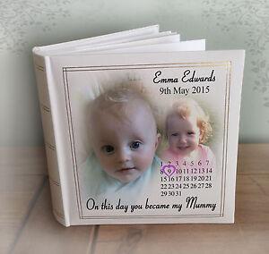 Personalizzata Grande PHOTO ALBUM, Mum Mamma Regalo di compleanno o regalo di Natale.  </span>