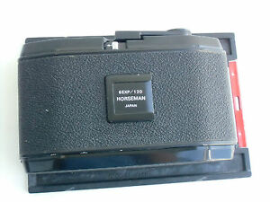 Image Is Loading 6 EXP 120 6x12 Cm Panoramic Rollfilm Holder
