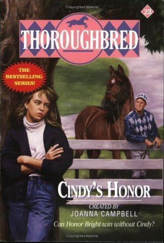 Cindy's Honor (Thoroughbred Series #23)