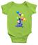 Infant-Baby-Boy-Girl-Rib-Bodysuit-Clothes-Gift-Eeyore-Gloomy-Donkey-Balloons thumbnail 6