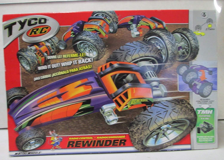 Tyco R/C Rewinder Toy Remote Control Vehicle Car New