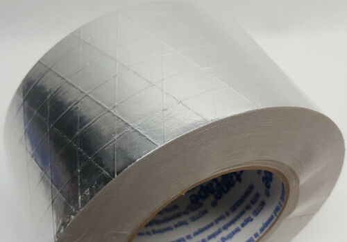 72mm x 46m x 50 yds New roll of Shurtape AF-982 FSK seam sealing tape 3 in