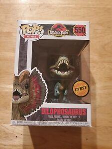 Funko Movies Jurassic Park #550 Dilophosaurus Chase Limited Editon