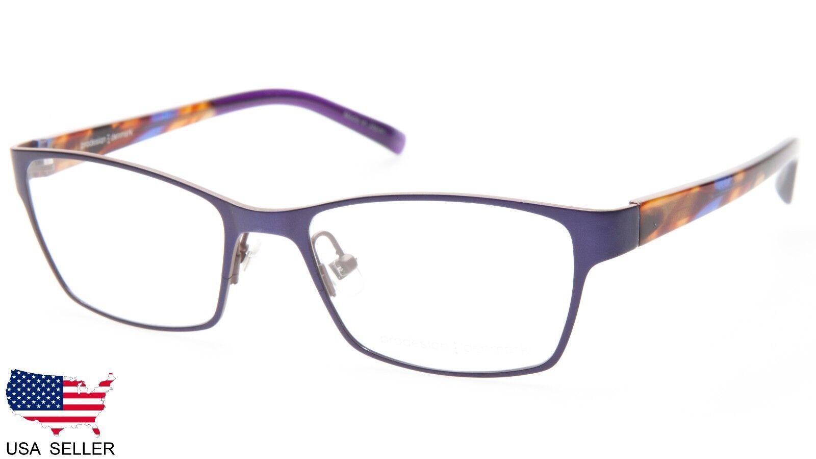 1b9152b629 PRODESIGN Denmark 1296 C.3031 Lilac Eyeglasses Frame 51-17-130 B34mm ...