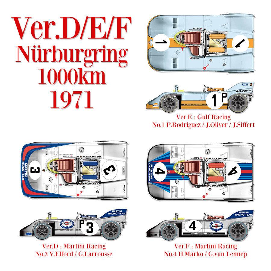 Modell - fabrik hiro k577 1 43 porsche 908   3) ver. d nrburgring   3