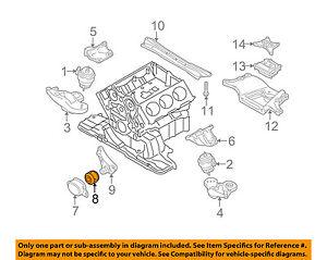 AUDI OEM 04-08 A4 Quattro-Engine Motor Mount/Torque Strut 8E0199339 | eBayeBay