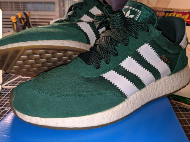 adidas Iniki runner Boost Sneakers - Green - Mens 13 by9726 gum St. Patrick's