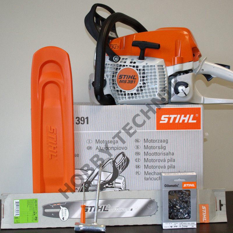 Stihl MS 391 50cm 1 xschwert 4 xketten motosierra sierras de cadena