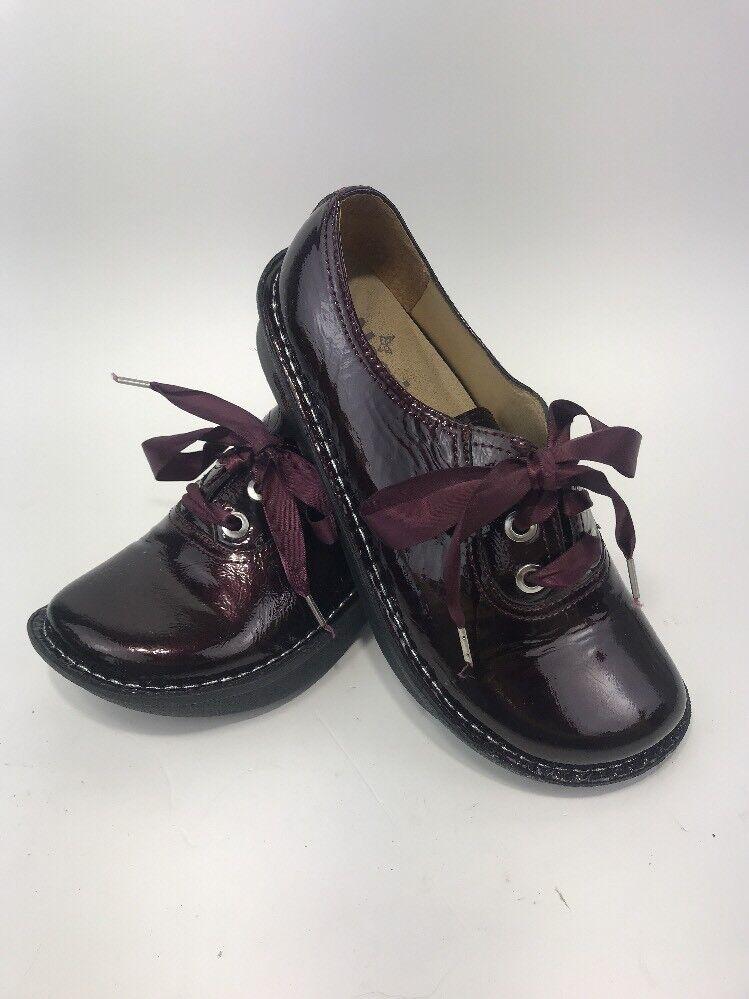 Alegria mujer zapatos zapatos zapatos talla 37 ABB 112 Borgoña Charol Oxford cordones granate  para mayoristas