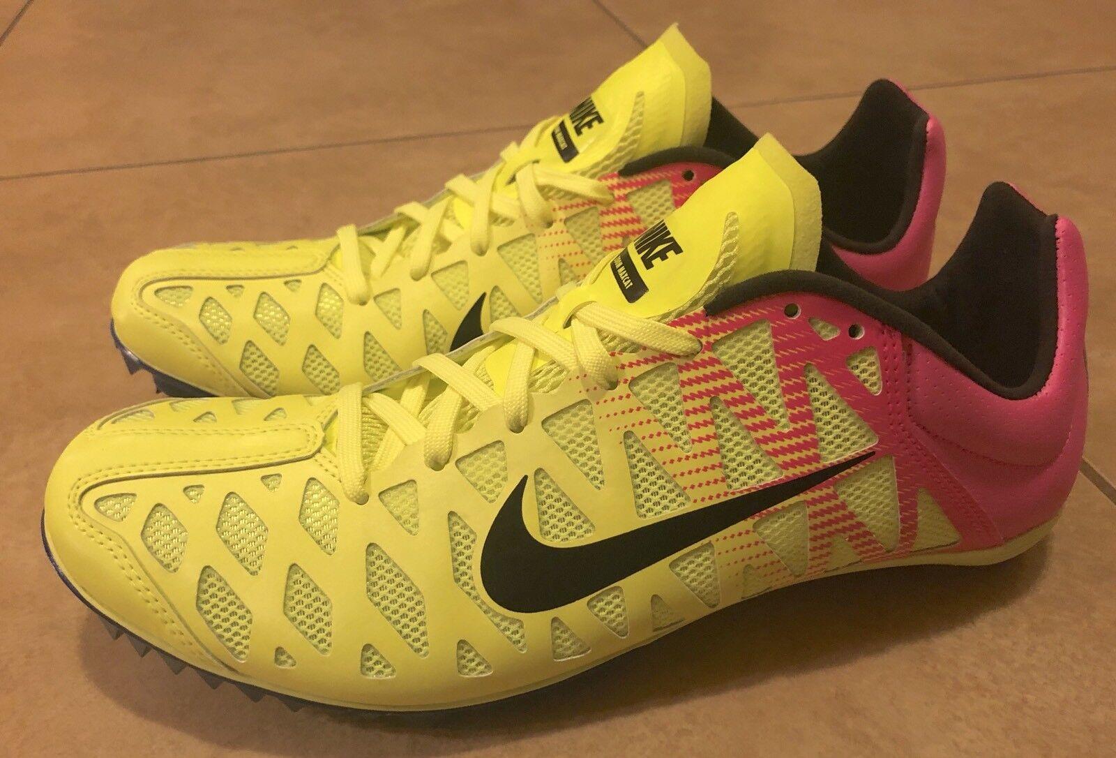 best website 0c2d6 3c07f ... Nike Mens Zoom Maxcat 4 Sprint Track Field Field Field Spikes Volt Pink  549150-999 ...
