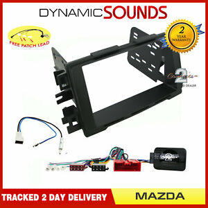 Double-Din-Stereo-Fascia-Steering-Antenna-Kit-Non-Amplified-for-Mazda-CX-5-2015-gt