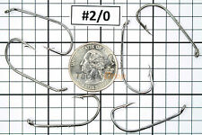 100x #8//0 Baitholder Fishing Hooks Offset Strong Chemically Sharpened Jig USA!