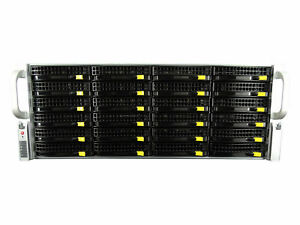 Supermicro-4U-BAREBONE-Server-BPN-SAS2-846EL1-24x-Trays-No-P-S-W-Rails