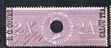 1866/68 India Bft:66 2A. Lilac. S.C. Court Calcutta Revenue.