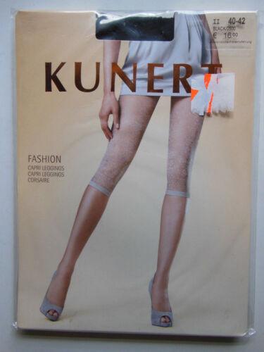 Kunert Capri Leggings leggins FASHION 30 den Black 0500 must have  UP16,00 €
