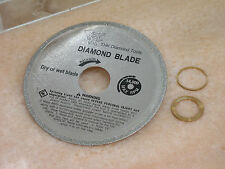"""100mm 4"""" THK Diamond cutting blade glass table saw disc 22MM arbor 1mm thickness"""
