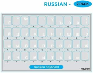 2-PACK-White-Russian-Alphabet-Keyboard-Stickers-Letters-Transparent