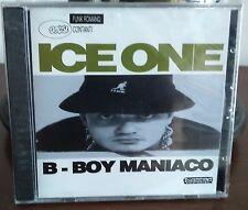 Ice One – B-Boy Maniaco Cd 1994 - 1° Stampa Still Sealed Mandibola MND802