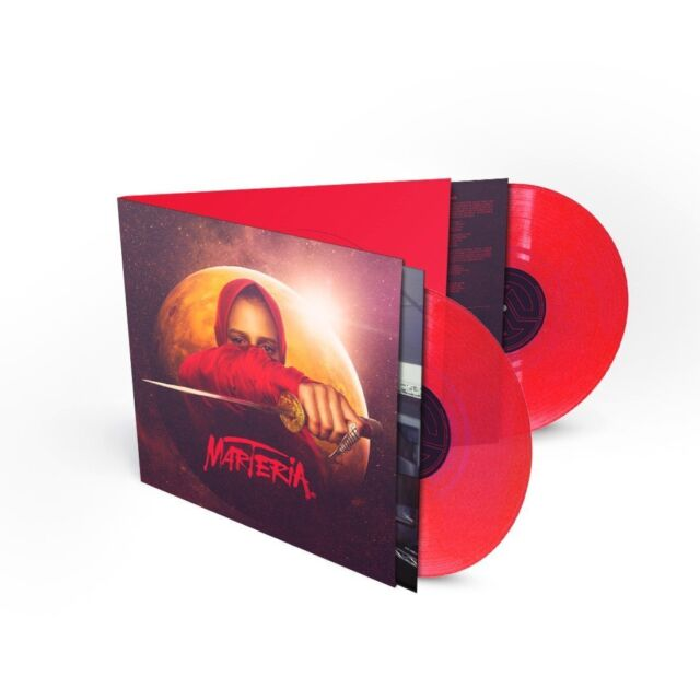 MARTERIA - ROSWELL - 2 RED VINYLS - LIMITED EDITION
