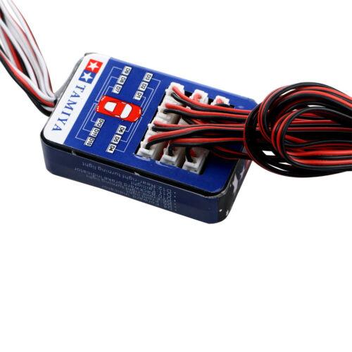 12 LED Light System Kit Smart Simulation Flash Lights for 1//10 RC Car Truck New