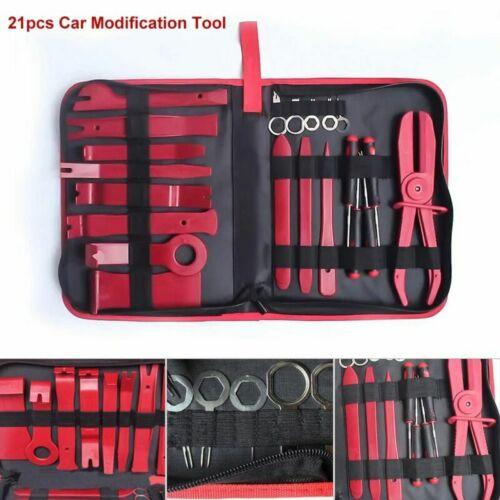 Car Auto Radio Door Clip Panel Trim Dash Audio Removal Pry Accessories Tool Kit