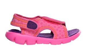 ce0e033883f4 Nike Infant   Toddler s SUNRAY ADJUST 4 TD Sandals Pink Pow 386521 ...