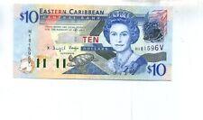 2003 East Caribbean $10 Queen Note Cu 8967B